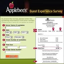 Applebee Restaurant & Guest Survey