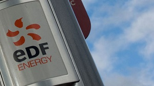 An EDF energy sign