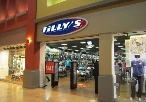 Tilly's offers a large selection of affordable action sports apparel, footwear and accessories from name brand surf, skate, motocross, and lifestyle fashion brands. Whether you're looking for skate shoes, T-shirts and hoodies, or cute dresses, sunglasses and boots, there are thousands of styles to choose from.