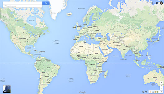 Plan vacation using Google Maps